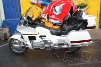 AvtoDop — Honda Gold Wing — Тюнинг мотоцикла Honda GL 1500 Gold Wing. White